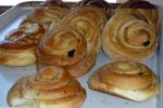 Cinnamon Raisin Snails