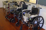 Wheel chairs and walkers for sale or rent.