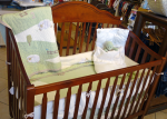 High quality children's furniture, such as this crib.