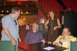 Gary Bruce, Ann Marie and Rosemary