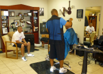 Chat with buddies while getting your haircut