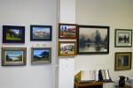 Samples of framed artworks.